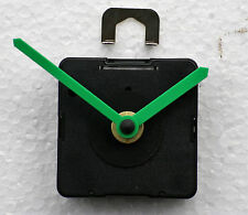 UTS (German) Quartz Clock Movements with medium stem. inc long Green hands.