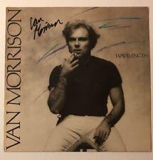 Van Morrison Signed Wavelength Vinyl LP JSA COA #Z04263  Autographed