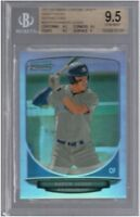 BGS 9.5 AARON JUDGE 2013 Bowman Chrome Draft REFRACTOR #19 Rookie RC GEM MINT