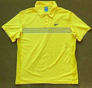Nike Rafa Nadal 2009 US Open New York NYC Polo Tennis Shirt Crew Federer RF - XL