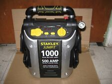 Stanely 1000 Amp Jumpstarter  with Air Compressor & USB Charge Port & LED Light