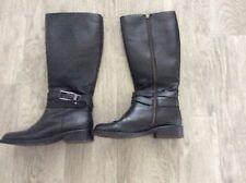 LADIES NEXT BLACK KNEE HIGH BOOTS SIZE 4