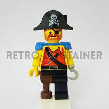 LEGO Minifigures - 1x pi023 - Pirate Captain - Pirati Omino Minifig Set1788