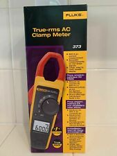 New Fluke 373 True Rms Trms Current Clamp Meter 600a 600v Acdc Ammeter Probe