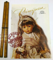 Gotz Dolls Inc 1998 Trade Samples Catalogue * PRINCIPESSA * Doll models GERMANY