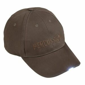 Percussion Led Baseball Cap Country Shooting Hunting Fishing Hat