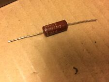 Vintage Good-All Capacitor .001 uf 600v Red Molded Treble Bleed Cap