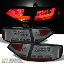 Smoked 2009-2012 Audi A4/S4/B8 Sedan Lumileds LED Perform Tail Lights Left+Right