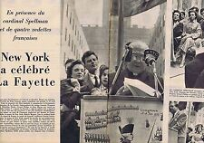 Coupure de presse Clipping 1957 Philippe Presle Marais Arnoul New York (9 pages)