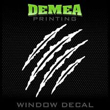 """Bear Claw - Personalized Window Car Decal/Sticker - 5"""""""