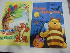Mini Garden Flags Lot Winnie the Pooh Halloween Tigger Holiday kite balloon