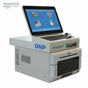 DNP SnapLab DP-SL620 II kpl. Fotokiosk-System Terminal + DS 620 Drucker