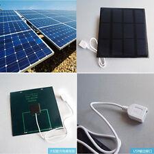 6V 3.5W Mini Panel Solar Módulo Sistema Batería Celular Cargador DIY Charger