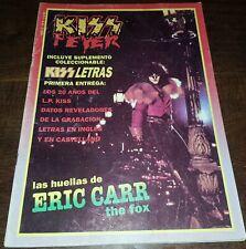 KISS FEVER #8 MAGAZINE Argentina 1989 very rare Spanish