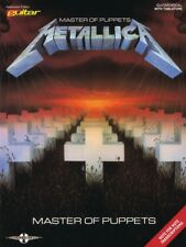 Metallica - Master of Puppets Guitar Tab Book