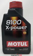 Aceite Motor Motul 8100 X-Power 10W60 ACEA A3/B4 BMW, 1 Litro