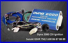 Dynatek 2000 CDI Ignition Suzuki GSXR750 GSXR1100 GSXR 750 86 87 88 89 90 91 92