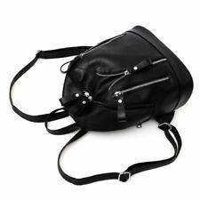 Women Backpack Fashion Causal Bag Bead Shoulder Bag PU Leather Zipper Backpack
