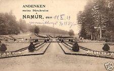 5112/ Feldpostkarte, Andenken an meine Durchreise, Namur, 1914