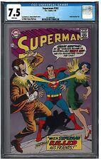SUPERMAN #203 CGC 7.5 (1/68) DC Comics white pages