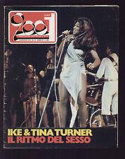 CIAO 2001 33/1974 IKE TINA TURNER JIM CAPALDI DOORS HYDE PARK FESTIVAL MAMA CASS
