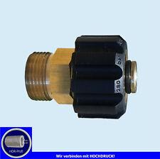 Adapter Hochdruckreiniger Ø 15 mm   M22 AG IG für Kärcher Schlauch / Pistole