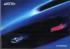 Subaru Impreza WRX STi 2004-05 UK Market Sales Brochure