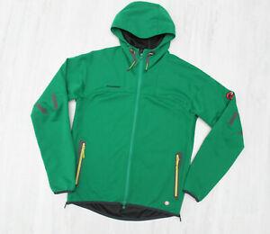 Herren MAMMUT Ultimate Hoody Jacket Softshell Gore Windstopper Gr. L Grün