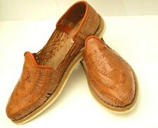 Men's maple Leather Mexican huaraches casual dress shoe Sandals closed toe NWOT