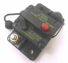 Bussmann DC Circuit Breaker 60 Amp Surface Mount Waterproof CB185-60 185060F