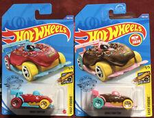 Hot Wheels Set Of 2 Donut Drifter. 2 Color Variations. Must L@K