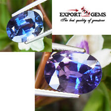4.51CT AIGS CERFITIED COLOR CHANGE NATURAL UNHEATED SAPPHIRE