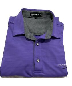 Aston Martin Mens Polo Shirt New Size M