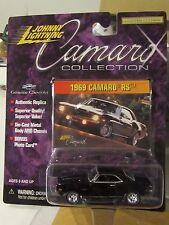 Johnny Lightning 1969 Camaro RS Camaro Collection Black