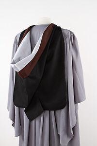 University academic hood - Free P&P - graduation gown accessory