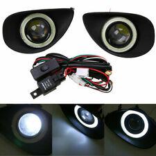 LED DRL Daytime Fog Lights Lamp angel eye kit 81481-52100 For Toyota Yaris 07-09