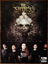 THE FACELESS Autotheism Ltd Ed HUGE Rare Poster +FREE Metal/Hardcore/Rock Poster