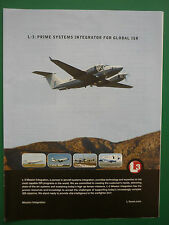 7/2010 PUB L-3 MISSION INTEGRATION NEXT GENERATION AIRBORNE ISR SYSTEMS ADVERT