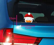 peeking Penguin sticker peeping funny cute decoration christmas rudolph tinsel