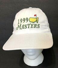 VTG⛳1999 MASTERS GOLF TOURNAMENT AUGUSTA, GEORGIA⛳white Adjustable strap Hat cap