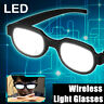Japan Anime LED Glowing Light Glasses Eyewear Cosplay Online Show Funny Props