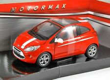2008 FORD KA in Red - 1/24 scale model by MotorMax