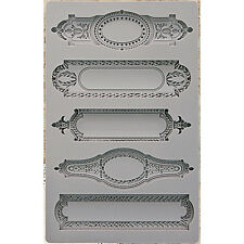 Prima - Iron Orchid Designs - Vintage Art Decor Mould - 5inX8in - Object Labels