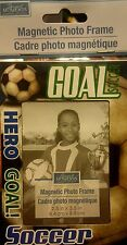 """Soccer Game Sport Memory Family Friend Photo Picture Magnet 2.5""""x3.5"""" Frame New"""