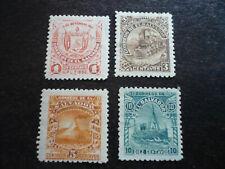 Stamps - El Salvador - Scott# 159 & 161-163