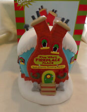 Dept 56 Grinch Village Flue Who's Fireplace House New 2019 6003319