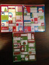 300 Peel N Stick Christmas Gift Tags