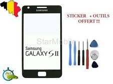 VITRE TACTILE SCREEN SAMSUNG GALAXY S2 GT- i9100 NOIR + OUTILS & STICKER 3M