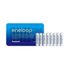 8 Pack NEW Panasonic ENELOOP AAA HR03 NiMH Rechargeable Batteries - 750mAh