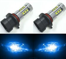 LED 80W 9005XS HB3A Blue 10000K Two Bulbs Head Light High Beam Replace Show